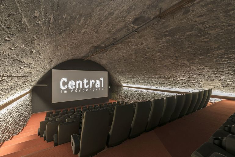 Blick in Kinosaal