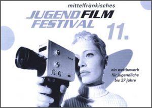 Titelmotiv des 11. Mittelfränkischen Jugendfilmfestivals