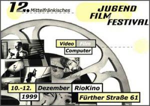 Titelmotiv des 12. Mittelfränkischen Jugendfilmfestivals