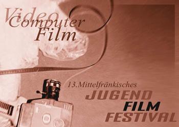 Titelmotiv des 13. Mittelfränkischen Jugendfilmfestivals