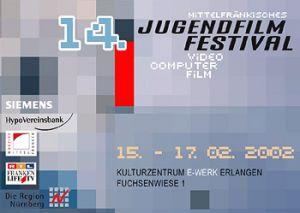 Titelmotiv des 14. Mittelfränkischen Jugendfilmfestivals