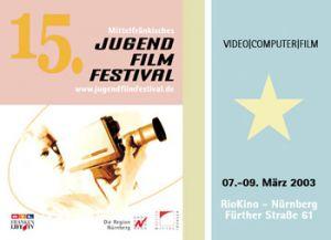 Titelmotiv des 15. Mittelfränkischen Jugendfilmfestivals