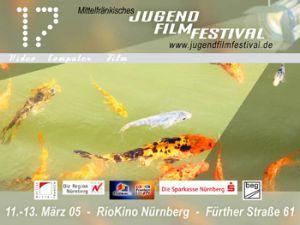 Titelmotiv des 17. Mittelfränkischen Jugendfilmfestivals