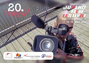 Titelmotiv des 20. Mittelfränkischen Jugendfilmfestivals