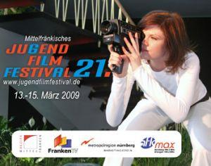 Titelmotiv des 21. Mittelfränkischen Jugendfilmfestivals