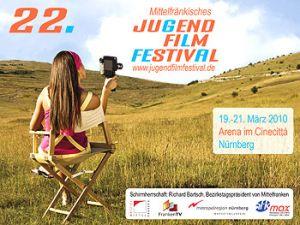 Titelmotiv des 22. Mittelfränkischen Jugendfilmfestivals