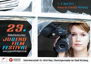 Titelmotiv des 23. Mittelfränkischen Jugendfilmfestivals