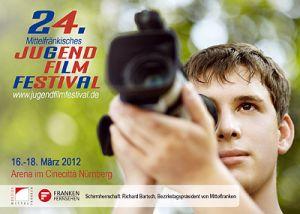 Titelmotiv des 24. Mittelfränkischen Jugendfilmfestivals