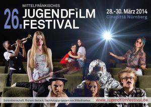 Titelmotiv des 26. Mittelfränkischen Jugendfilmfestivals
