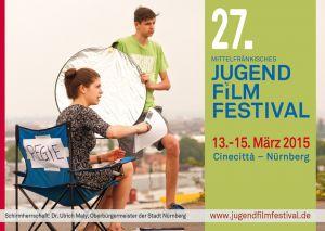 Titelmotiv des 27. Mittelfränkischen Jugendfilmfestivals