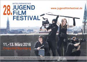 Titelmotiv des 28. Mittelfränkischen Jugendfilmfestivals