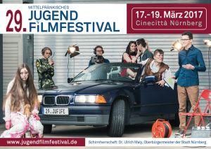 Titelmotiv des 29. Mittelfränkischen Jugendfilmfestivals