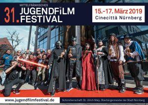 Titelmotiv des 31. Mittelfränkischen Jugendfilmfestivals